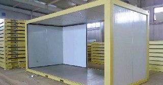 Сэндвич-панели для холодильных камер под ключ в Самаре цена от 1337 руб
